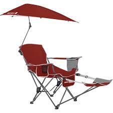 Beach Lounge Chair Umbrella Amazon Com Sport Brella Recliner Chair Sports U0026 Outdoors