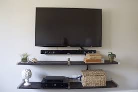 36 wall mounted shelves for tv equipment interior marble