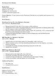 Office Clerk Resume Sample by Him Clerk Cover Letter