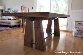 DIY Rustic Dining Table - Diy dining room tables