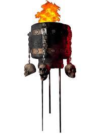 flaming cauldron decorations u0026 props