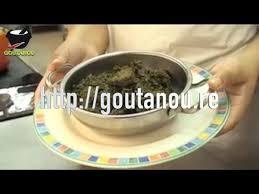 cuisine antou boucané brede manioc par christian antou