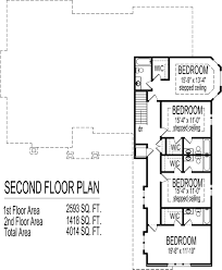 Floor Plans With Basement by Arts And Crafts Two Story 4 Bath House Plans 3000 Sq Ft W