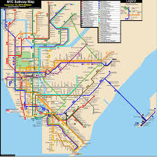 New York Submay Map by This Awesome Map Tracks Nyc Public Transit In Real Time Curbed Ny