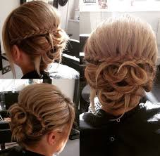 upsweep for medium length hair 60 updos for thin hair that score maximum style point