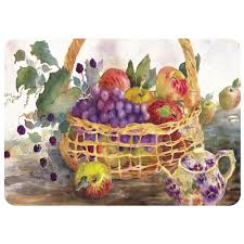 bungalow flooring autumn fruit 22 in x 31 in polyester surface
