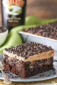 photo cake baileys chocolate poke cake and sugar