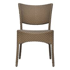 Janus Cie Outlet by Amari Dining Side Chair Bronze Cabana Home
