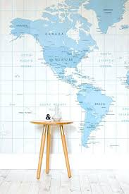 Articles With World Map Wall Mural Decal Tag World Map Wall Mural