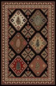 Rustic Cabin Lodge Area Rugs Rugs For Cabins Roselawnlutheran