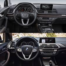 Audi Q5 Next Generation - photo comparison 2018 audi q5 vs 2018 bmw x3