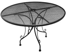 Mesh Patio Table Metal Mesh Patio Table Home Design Ideas And Pictures