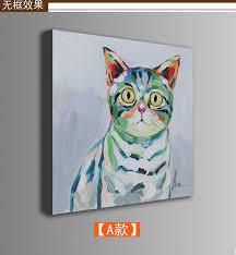 fresque chambre b peint à la peinture à l huile animale mignon de bande