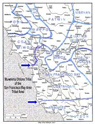San Francisco Bay Map by Muwekma Ohlone Tribe Muwekma Ohlone Tribe San Jose Ca Home