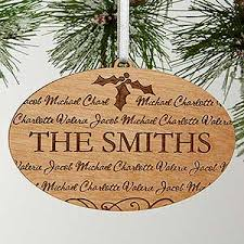 personalized christmas ornaments family is forever
