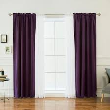 Lavender Window Treatments - buy purple blackout curtains from bed bath u0026 beyond