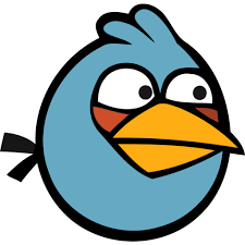image angry bird blue icon 1 png angry birds wiki fandom