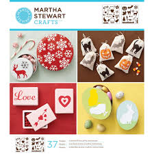 Halloween Crafts Martha Stewart Martha Stewart Crafts Laser Cut Stencils Holiday Icons