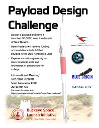 Challenge Origin 2018 High School Payload Design Challenge Buckeye Space Launch