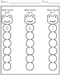 Count By 5 Worksheets Printable Free Skip Count 5 7 Worksheet Free Printable Worksheets