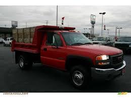 2004 gmc sierra 3500 sle regular cab 4x4 dually dump truck in