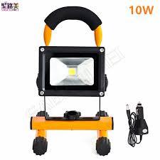 10w rechargeable flood light 10w 20w led rechargeable emergency light portable spotlight