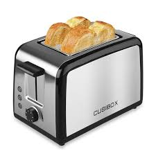 Stainless Toaster 2 Slice Cusibox Toaster 800w Stainless Steel Household 2 Slices Baking