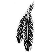 double native american tribal feather tattoo designs photo 2