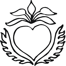 printable coloring pages of flowers free coloring pages hearts