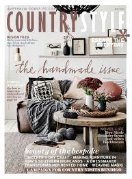 danielle creenaune u0027s work shown in the cover of countrystyle