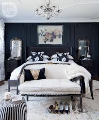black rooster black and white striped side table copycatchic