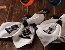 halloween napkin holders google search halloween tablescapes