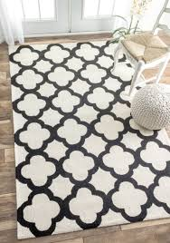 White And Gray Rugs Flooring White Ikea Accent Chair With Chevron Kaleen Rugs On Dark