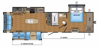 Fifth Wheel Floor Plans Bunkhouse Jayco Eagle Rvs For Sale Camping World Rv Sales