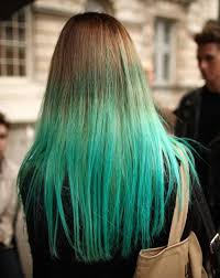 Soft Blue Color Hairstyles Nice Blue Ombre Hair Color With Bangs Blue Ombre Hair