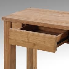 meubles en teck massif kha home design console padang en teck massif 1 tiroir meuble