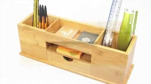 Revolving Desk Organizer by 1619 Desk Tidy Wide Stationery Organiser Youtube