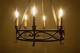 Led Bulbs For Chandelier Ca10 Led Filament Bulb 40 Watt Equivalent Candelabra Led Vintage