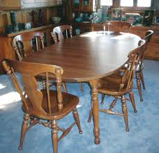 Maple Dining Room Sets Furniture Detective Pinning Down Heywood Wakefield Value Is Hard