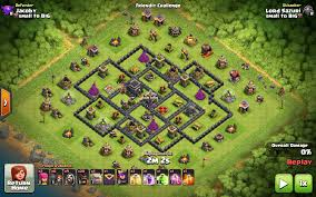 image clash of clans xbow super hard th9 war base