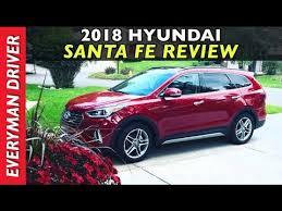 hyundai santa fe review 2018 hyundai santa fe review on everyman driver