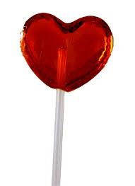 heart lollipop treats the stick lollipop which is capturing consumer