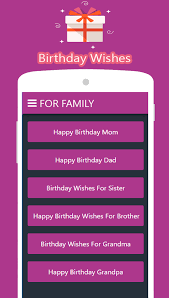 happy birthday wishes u0026 quotes android apps on google play