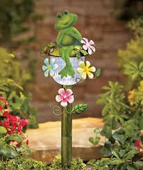 Solar Stake Garden Lights - solar powered garden decor home outdoor decoration