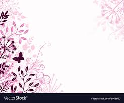 pink backdrop pink and black floral background backdrop vector image