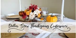 dollar store thanksgiving centerpiece senseful style