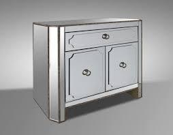 Silver Leaf Nightstand Bedroom Delightful Mirrored 6 Drawer Dresser With Silver Leaf