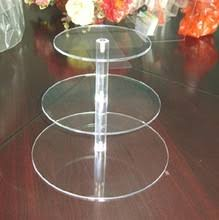 online get cheap 3 tier acrylic wedding cake stand aliexpress com