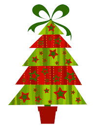 contemporary christmas tree clipart clipartxtras