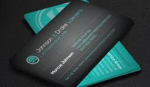 adobe illustrator business card template simple black personal